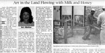Scan of article by writer Angie Young