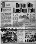 Scan of left side of article by Angie Young