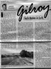 Left side of page 1, scan of article by Angie Young