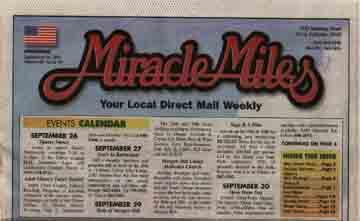 Scan of a 2001 edition of the Miracle Miles