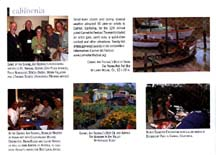 Scan of Angie Young's half page in Plein Air magazine on Aug05