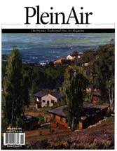 Cover of November 2005 issue of Plein Air Magazine
