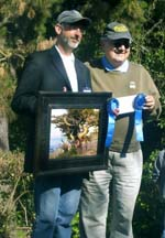 Photo of plein air artists Thomas Kitts & Jean Stern by Angela Young