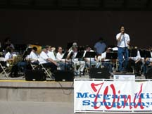 Photo of the Morgan Hill Wind Symphony by writer Angie Young