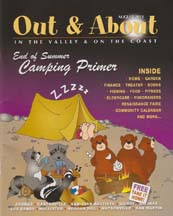 Cover of Out & About Magazine
