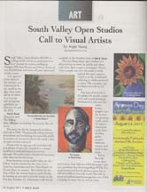 Scan of article by Angela Young