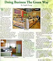 Article by writer Angela Young in Out & About the Valley magazine